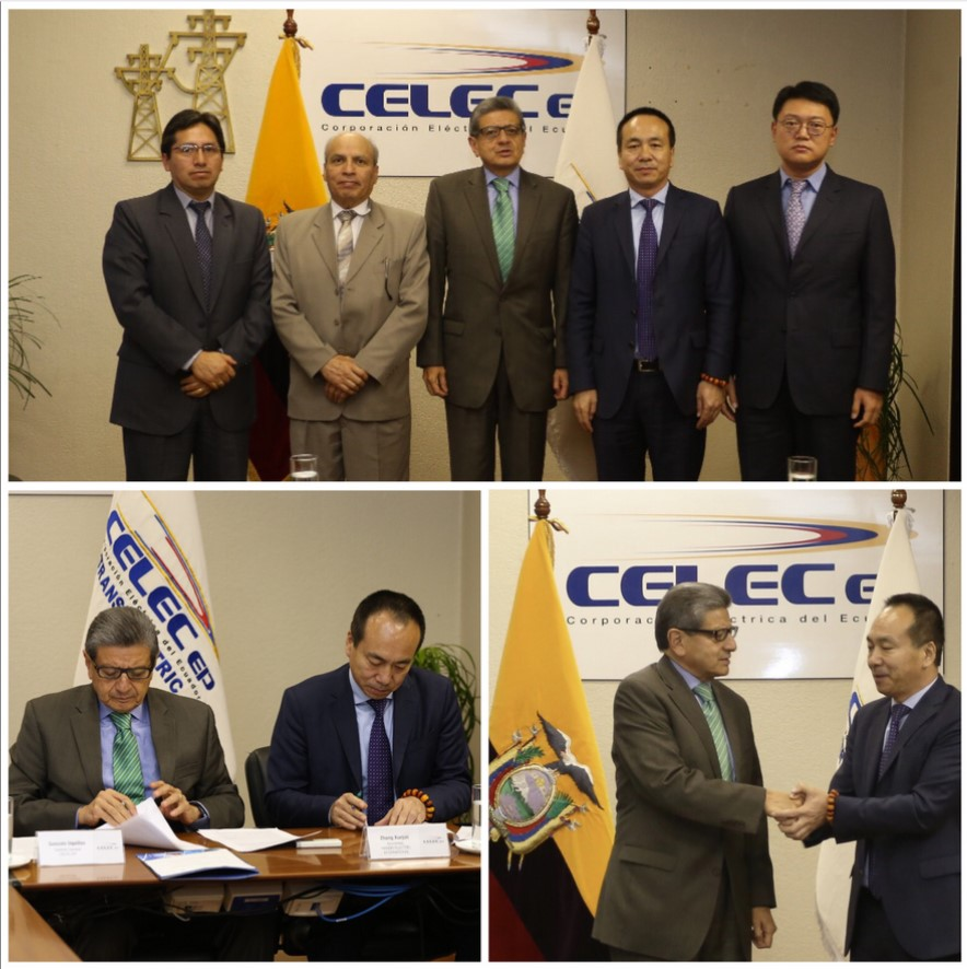 Works resume to conclude the construction of the Inga - Tisaleo line in Ecuador