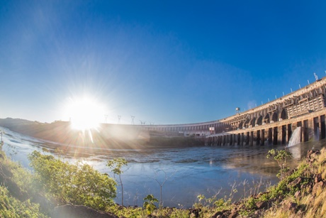 The ITAIPU Hydroelectric Plant reaches production of 50 million MWh in 2020