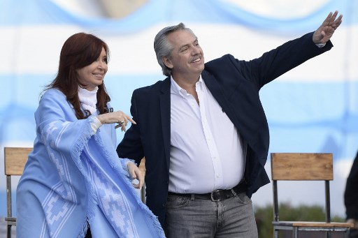 Alberto Fernández wins Argentine presidency in first round