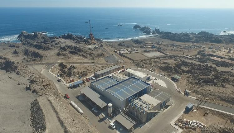 Aguas Antofagasta begins a dry run at the Tocopilla desalination plant