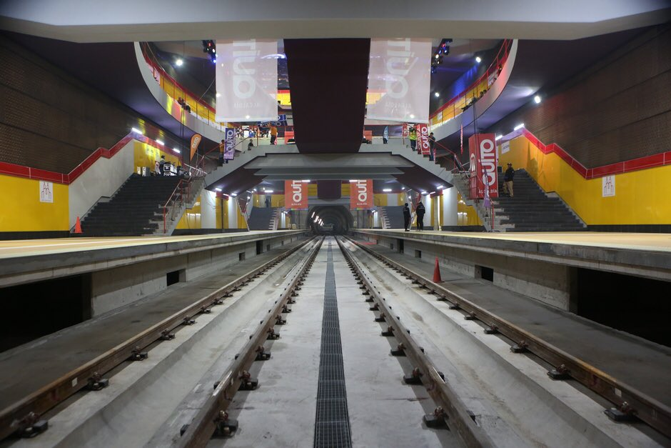 Postergan inauguración de metro de Quito
