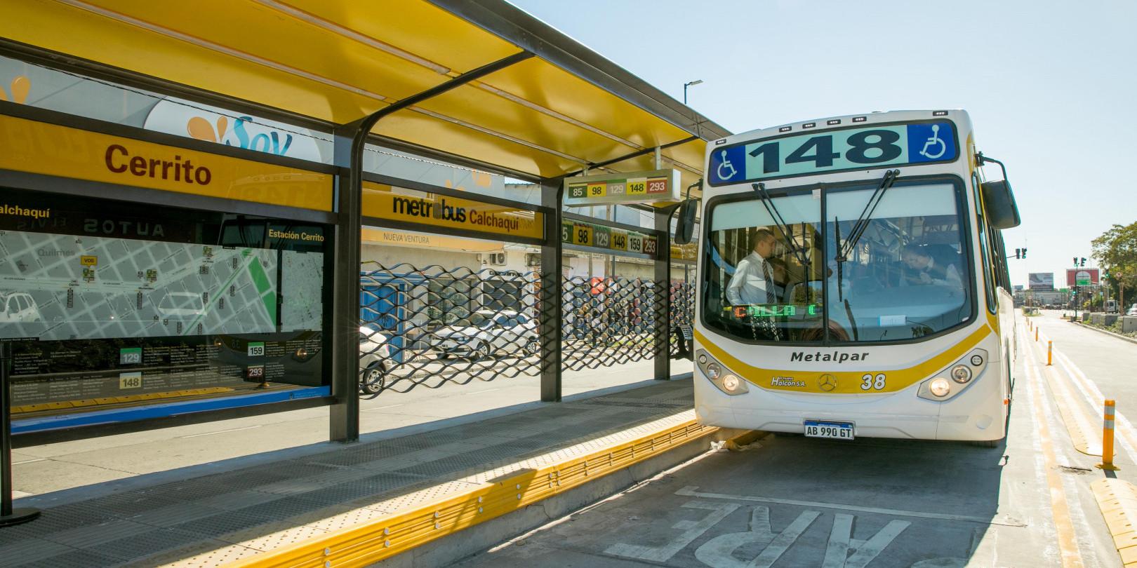 Argentina opens new BRT corridor in Buenos Aires