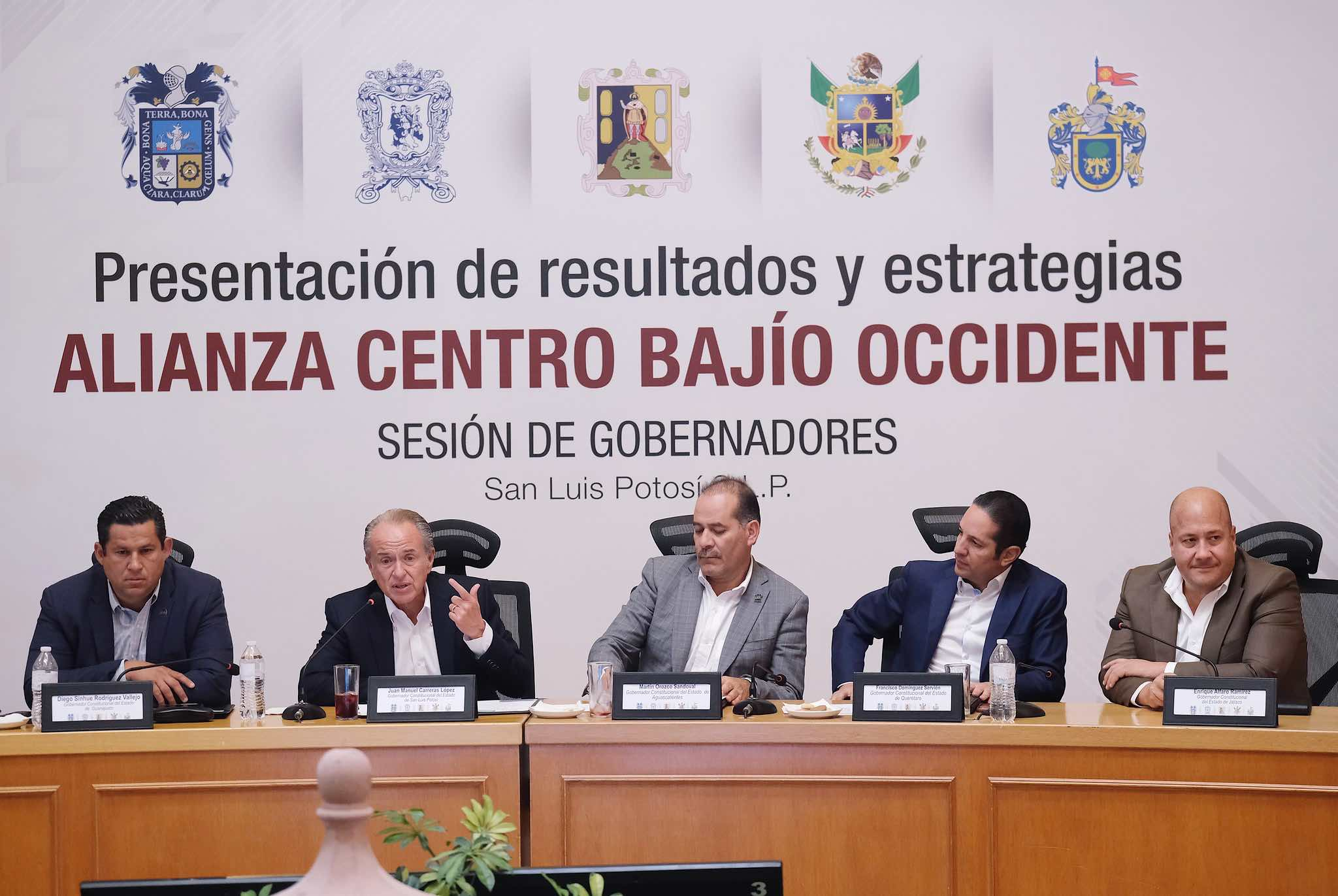 What infra projects will be priority for Mexico's Bajío alliance?