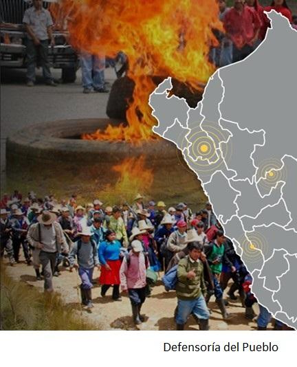 Minería e hidrocarburos representan 80% de los conflictos en Perú