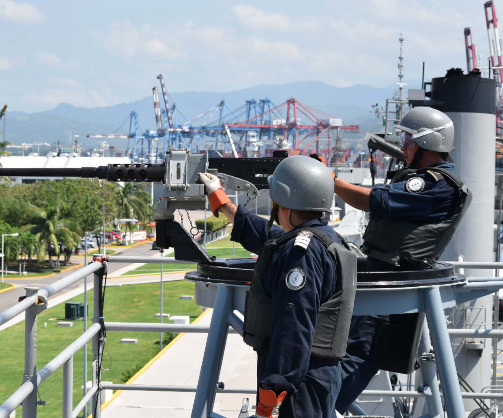 What's at stake in putting the navy in charge of Mexico's ports?