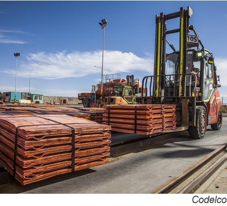 Redoblan esfuerzos para mejorar supervisión de exportaciones chilenas de cobre