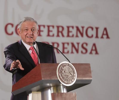 AMLO unveils potential projects for Mexico's states