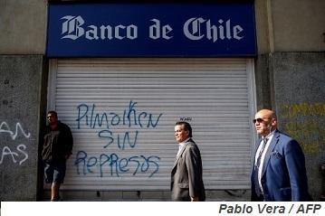 ¿Cuánto afectarán las protestas a la cartera de préstamos del Banco de Chile?
