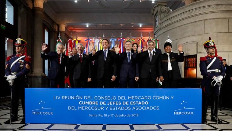 Bolsonaro wants Mercosur to 'make history'