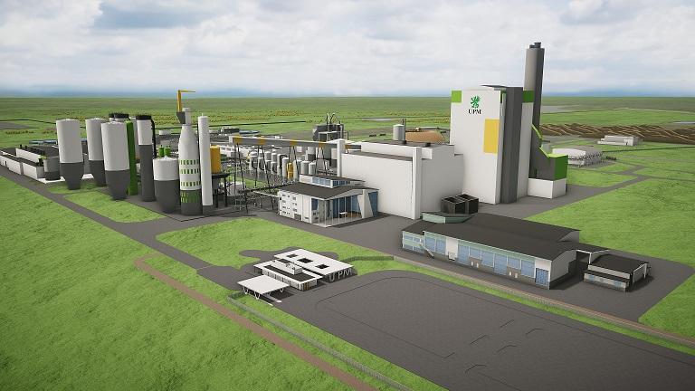 UPM construirá planta de celulosa de US$2.700mn en Uruguay