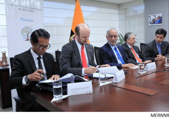 Ecuador and Chile accelerate partnership talks on Llurimagua project