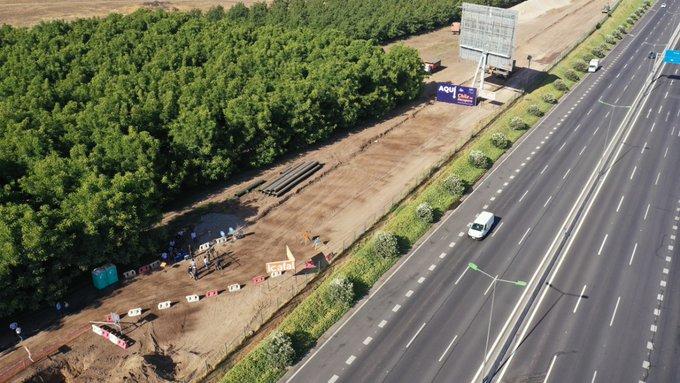 Chile comienza trabajos de mejoramiento en Costanera Sur