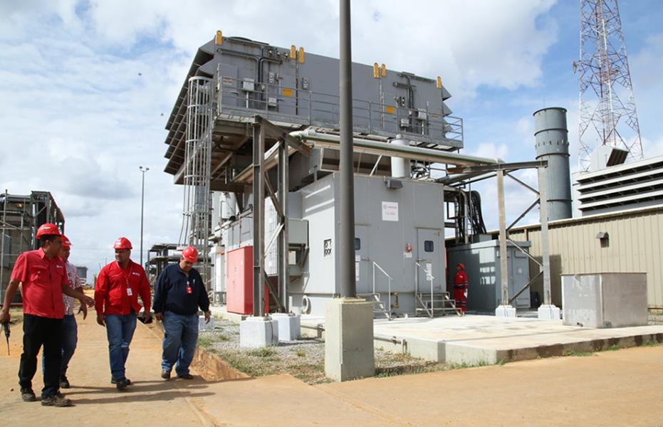 PDVSA pone en servicio Planta de Generación Eléctrica Morichal
