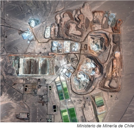 Chilean air force satellites to help mining, energy sectors