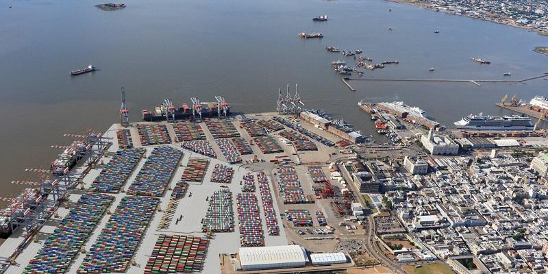Panorama portuario del Cono Sur