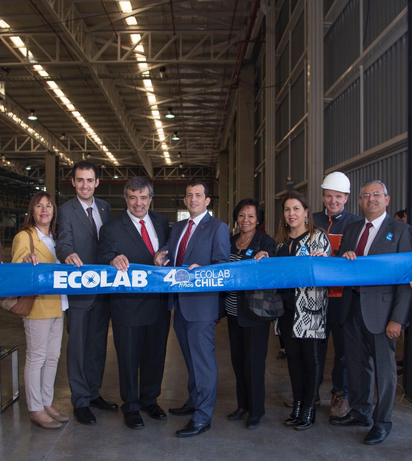 Ecolab apunta a triplicar producción en Chile con nuevas plantas