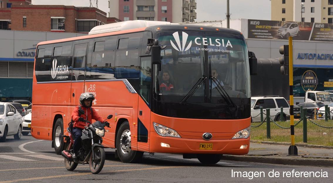 Celsia pondrá a disposición de Bogotá 120 buses eléctricos para el Sistema Integrado de Transporte Público
