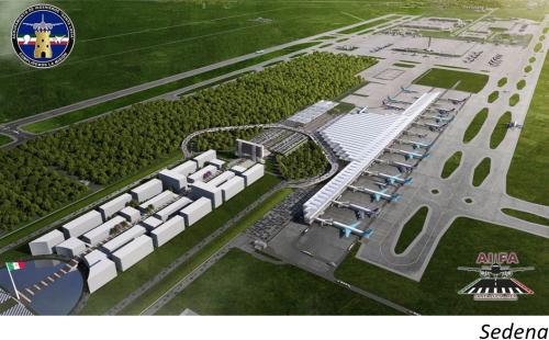 Gasto en emblemático proyecto aeroportuario de AMLO genera controversia