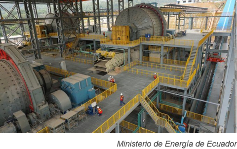 Ecuacorriente to make second copper concentrate shipment in February