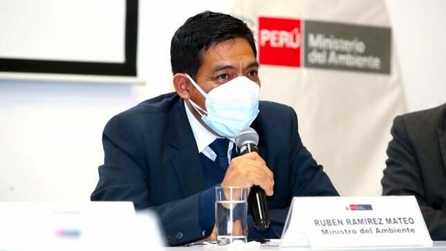 Ministro Rubén Ramírez impulsará la gestión en el Minam a favor del cuidado de nuestro ambiente y los recursos naturales de los peruanos