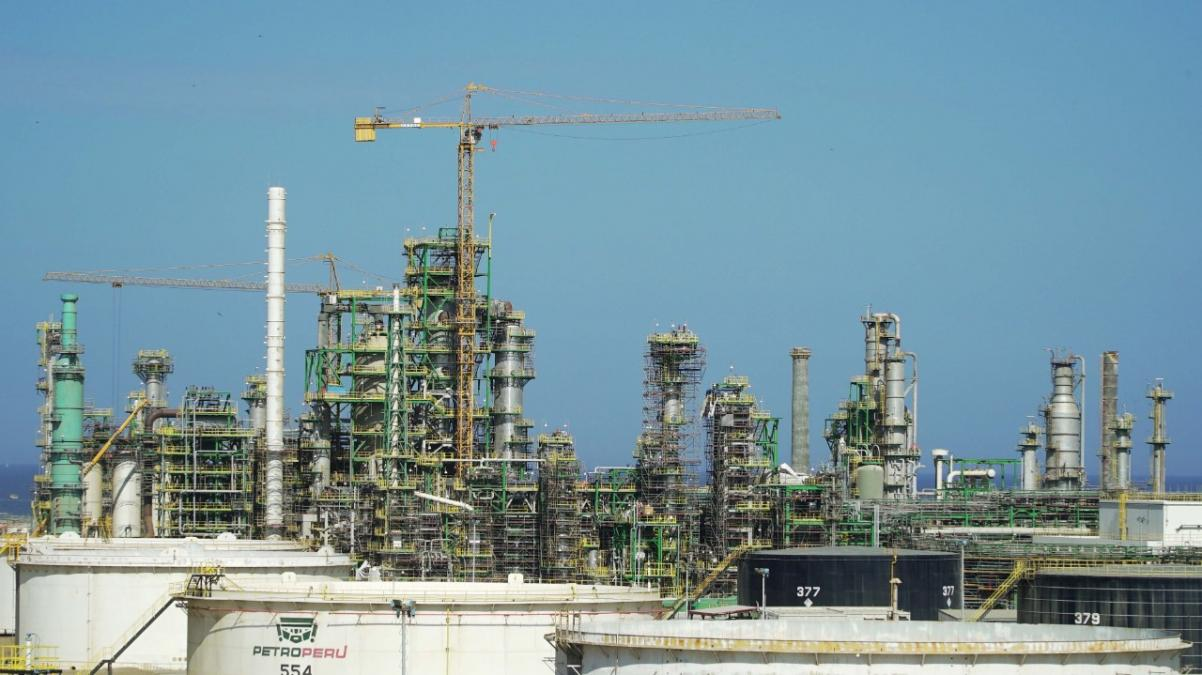 Construction of the new Talara refinery is over 90% complete