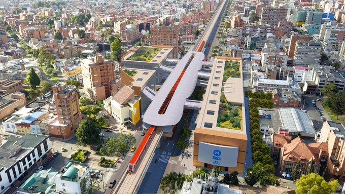 China obtiene contrato de Metro de Bogotá mientras otros países apuntan a Beijing