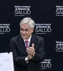 Chile's Piñera unveils 3rd major reform since taking office