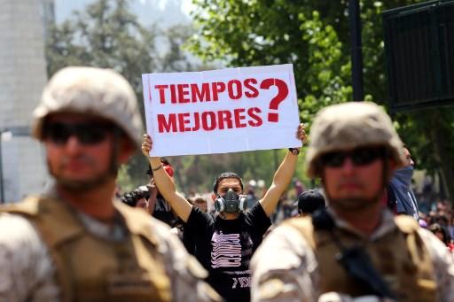 Resumen de noticias sobre protesta social en Chile