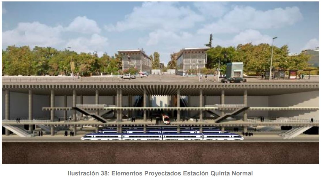 Chile's EFE submits EIA for Santiago rail station