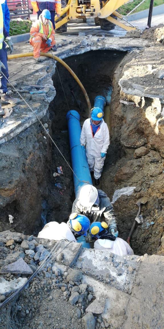 Chilena Essal vuelve a derramar aguas residuales