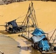 Where are Peru's gold exports coming from?