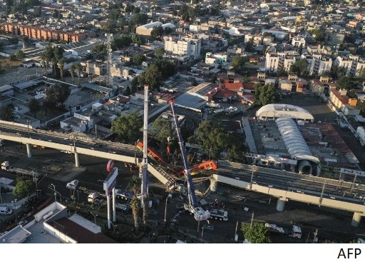 Mexico City metro collapse: Design flaws asserted as politicians clash over blame