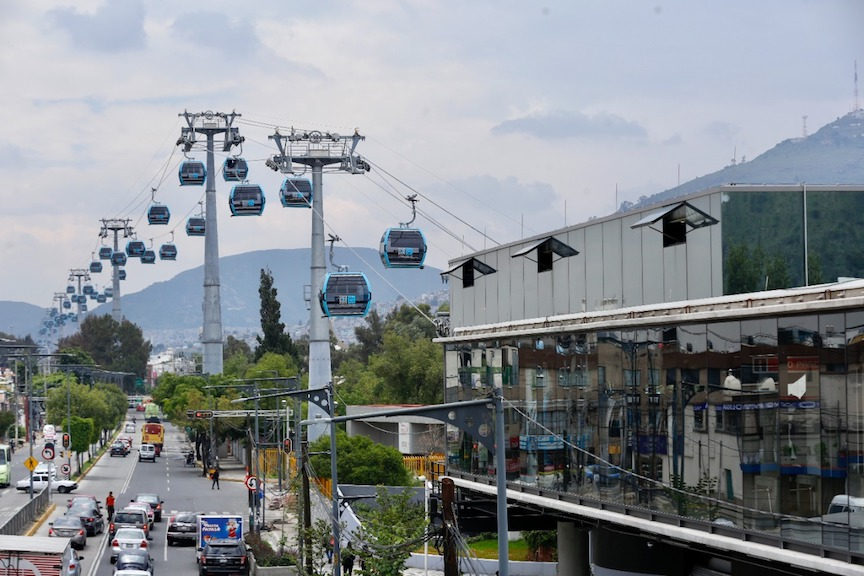 Spotlight: Mexico City's cable car projects