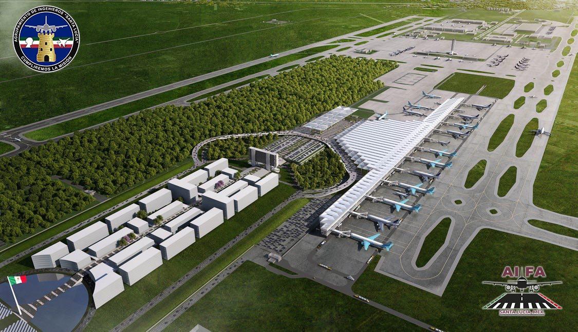 Sistema de 3 aeropuertos de AMLO enfrenta un revés