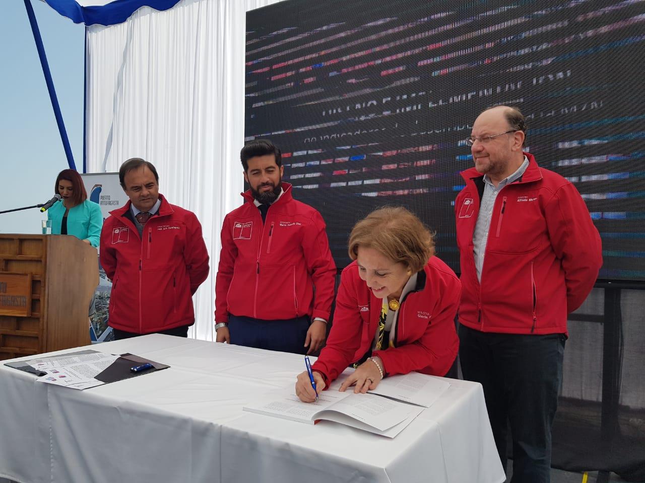 Chile presenta plan maestro para macrozona norte para potenciar conectividad interregional