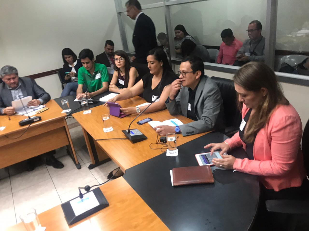 Social organizations submit observations to the new water law in Costa Rica