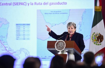 What are the infra proposals of AMLO's CentAm development plan?