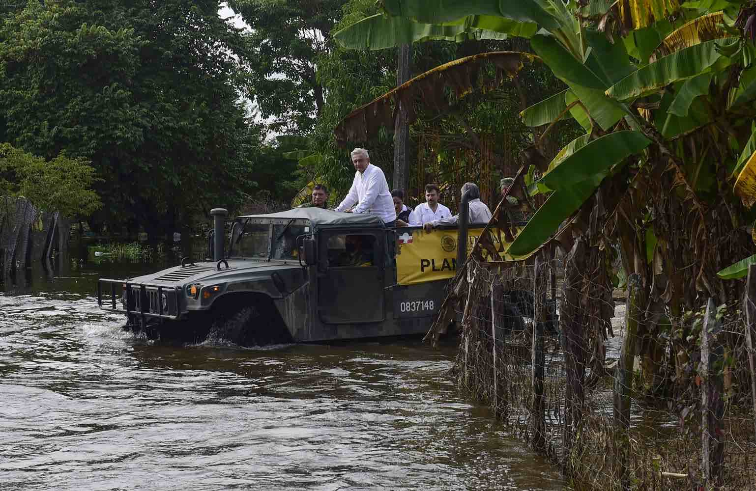 Mexico rolls out studies for anti-flood infra in Tabasco state
