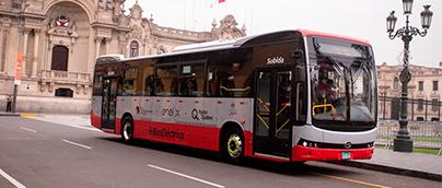 GSEP, Enel X e Hydro-Québec incorporan primer bus eléctrico al sistema de transporte público de Lima