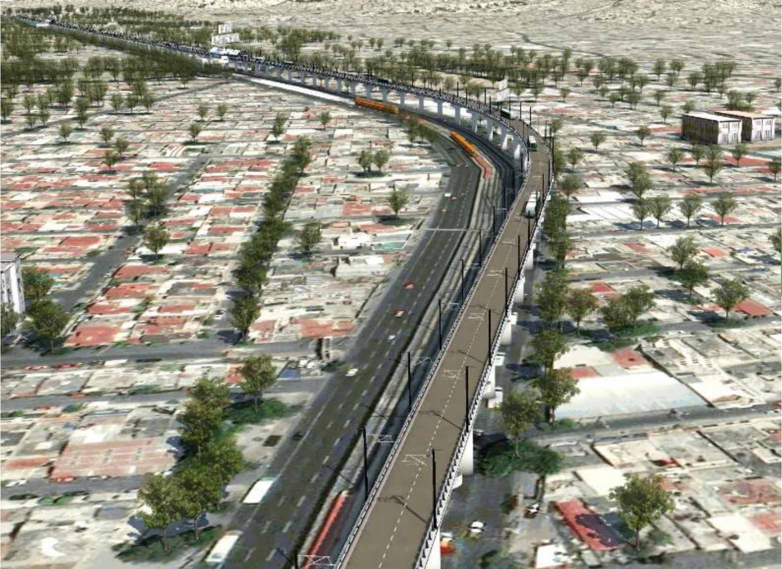 Mexico City outlines public transport projects