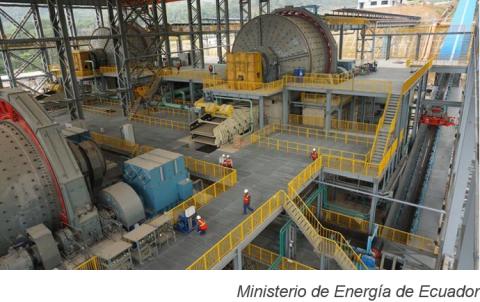 Ecuacorriente realizará segunda exportación de concentrado de cobre en febrero