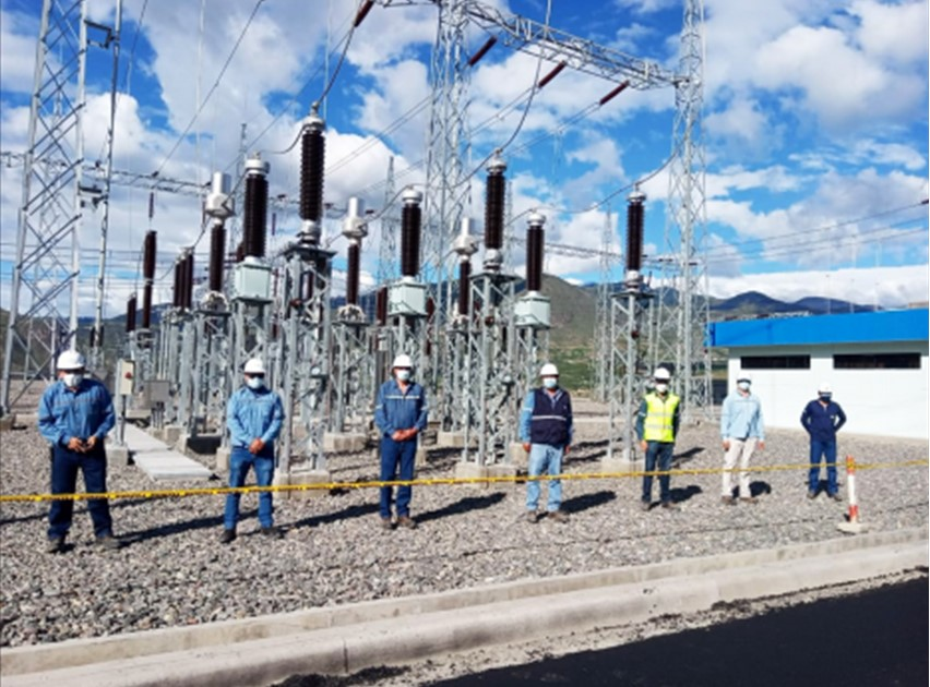 Celec EP Transelectric energized the Pimampiro substation, 138 thousand volt yard