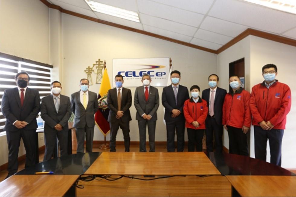 Ecuador receives the Minas San Francisco and Sopladora hydroelectric plants