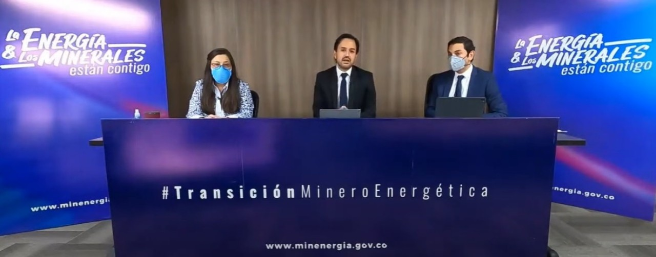 """""""In 2021, the mining-energy sector will be the protagonist of the sustainable reactivation of Colombia"""", Minister Diego Mesa"""