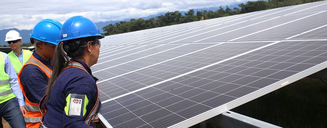 Gobierno colombiano se compromete con el sector energético