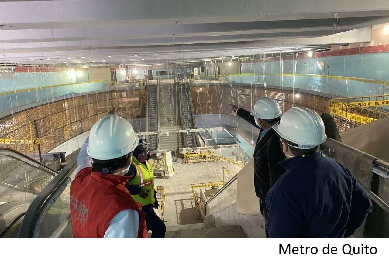 Alcalde de Quito busca agilizar inicio de operaciones de metro