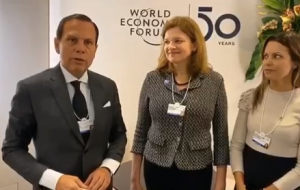 Brazilian officials reaping dividends in Davos