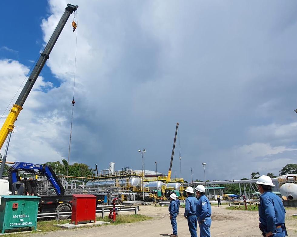 Petroamazonas EP pone en marcha un sistema que permite optimizar el combustible en la generación eléctrica con petróleo en los Bloques 12 y 31