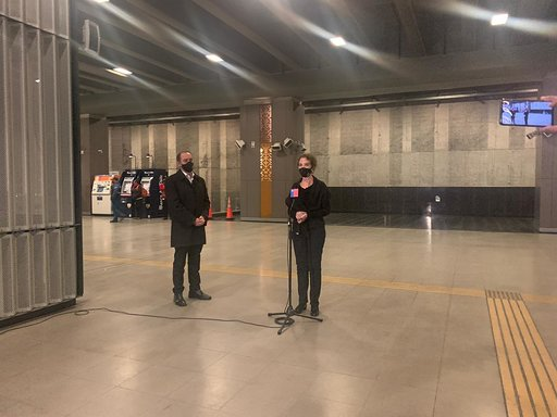 Metro de Santiago network 95% operational almost a year after being damaged
