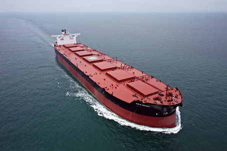 Movilización de carga en puerto de Rio Grande baja el 1S